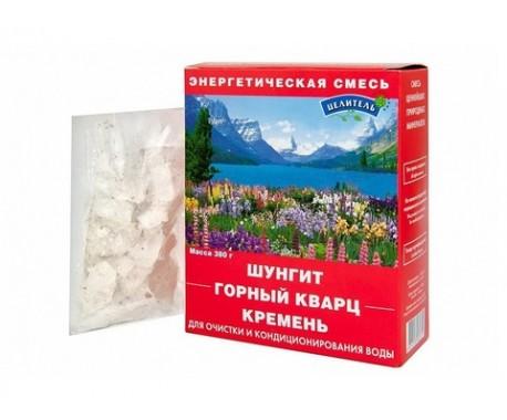 Энергетическая смесь 420 гр (шунгит, горный кварц, кремень)