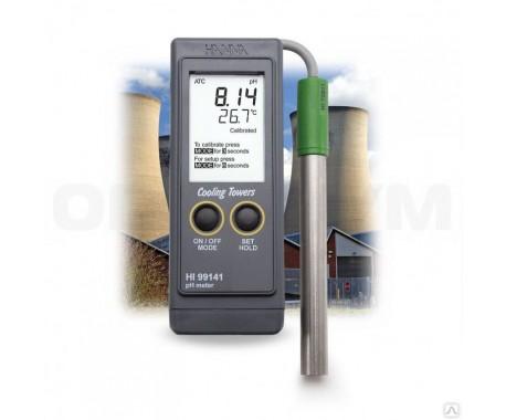 рН/ОВП-метр HANNA HI99141 (-2 - 16 pH, -1999 - 1999 мВ, карманный)