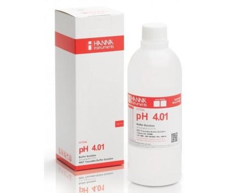 HANNA HI7004L раствор для калибровки рН 4.01, 500 мл