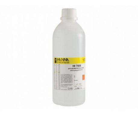 HANNA HI7006L раствор для калибровки pH 6.86, 500 мл