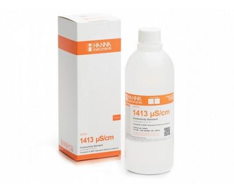 Раствор для калибровки HANNA HI 7031 L (для кондуктометров, 500 мл., 1413мкСм/см)