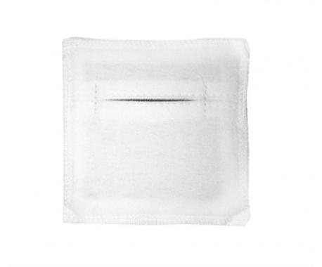 Электрод из токопроводящей углеродной ткани фланелевый 100х100 мм. 4 шт.