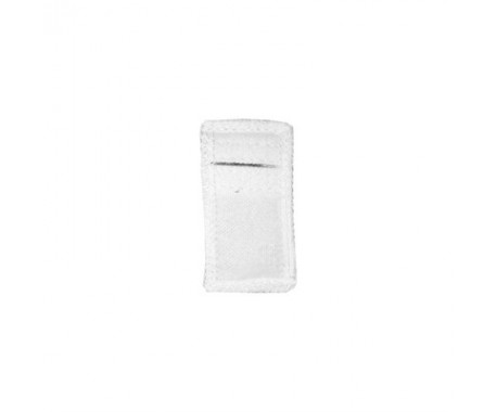 Электрод терапевтический из токопроводящей углеродной ткани фланелевый 30x60 мм. 1шт.