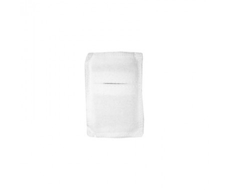Электрод терапевтический из токопроводящей углеродной ткани фланелевый 40x70 мм. 1шт.