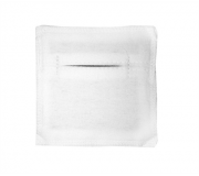 Электрод терапевтический из токопроводящей углеродной ткани фланелевый 50x70 мм. 1шт.