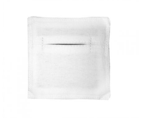 Электрод терапевтический из токопроводящей углеродной ткани фланелевый 80x100 мм. 1шт.