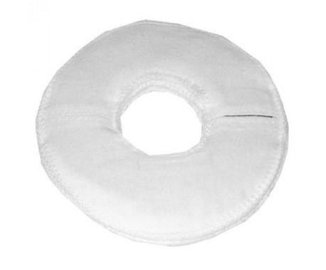 Электрод терапевтический из токопроводящей углеродной ткани фланелевый «Грудной» для молочных желез. Диаметр 16/5 см. 1шт.