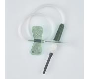 Игла-бабочка 22G с луер адаптером для забора крови Improvacuter - 1 шт.