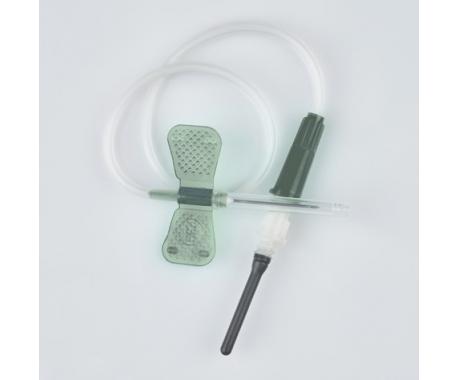 Игла бабочка 22 g для вакуумного забора крови пробирками - 100 шт