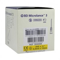 Иглы BD Microlance 30G, 0,3х13 мм (Becton Dickinson) - 1 шт