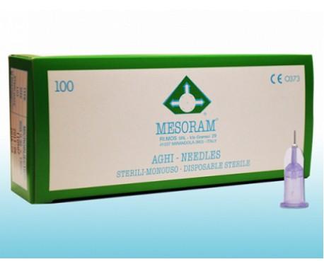 Mesoram (Мезорам) иглы инъекционные 30 G, 0,3х4 мм - 1 шт