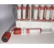 Пробирки с активатором свертывания (ПЛАСТИК) 6 мл, 13х100 - 1 шт