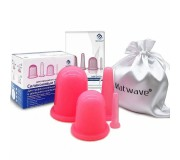 Силиконовые банки массажные Matwave MW-04 Pink