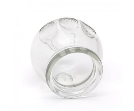 Стеклянная банка профессиональная массажная вакуумная № 1, диаметр 32 мм