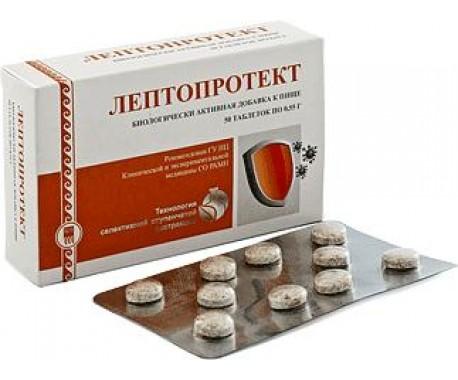 Лептопротект  таблетки  50 шт.