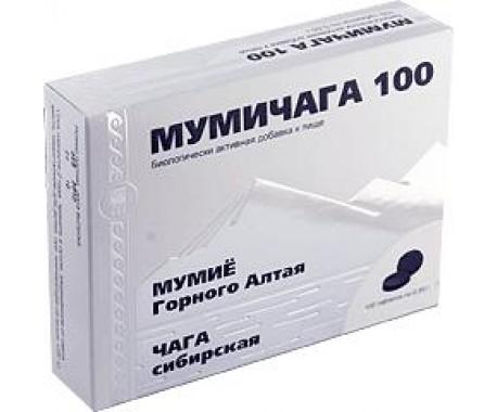 Мумичага 100  таблетки  100 шт.
