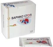 Концентрат сухой безалкогольный Варико-cтоп  20 пакетов по 10 г.