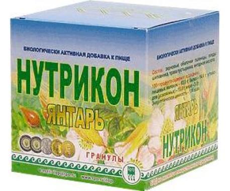 Нутрикон Янтарь  гранулы  350 г